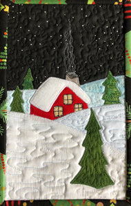 Snowbound Mug Rug Pattern