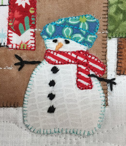 Log Cabin Christmas Quilt Pattern