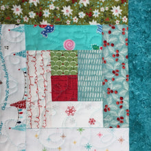 Load image into Gallery viewer, Log Cabin Christmas Quilt Pattern