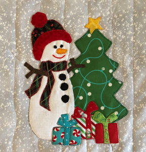 Snow People Table Runner Pattern