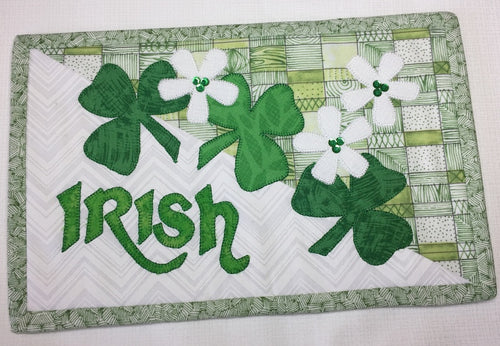 Irish Mug Rug Pattern
