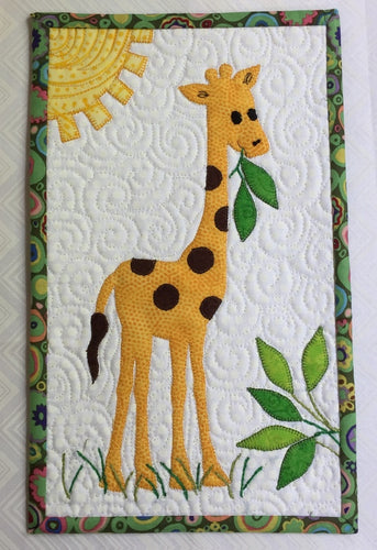 G is for Giraffe Mug Rug Pattern