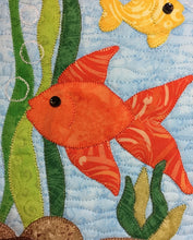 Load image into Gallery viewer, F is for Fish Mug Rug Pattern