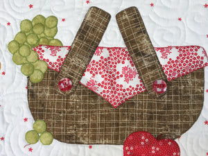 Summer Picnic Table Topper Pattern