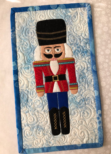 Nutcracker Mini Quilt