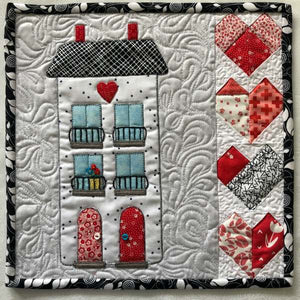 Juliet Apartments Mini-Quilt or Quilt Block Pattern
