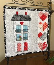 Load image into Gallery viewer, Juliet Apartments Mini-Quilt or Quilt Block Pattern