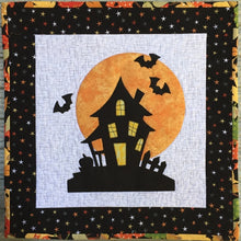 Load image into Gallery viewer, Halloween House Mini Quilt Pattern