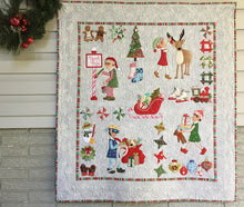 Load image into Gallery viewer, Christmas Elves Wall Quilt Pattern