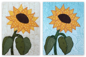 Sunflower Mug Rug Pattern