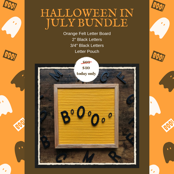 Halloween in July Bundle