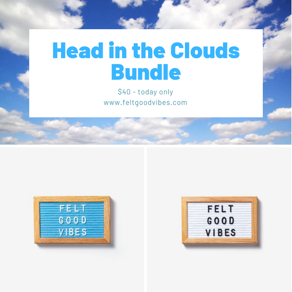 Head in the Clouds Bundle - TODAY ONLY