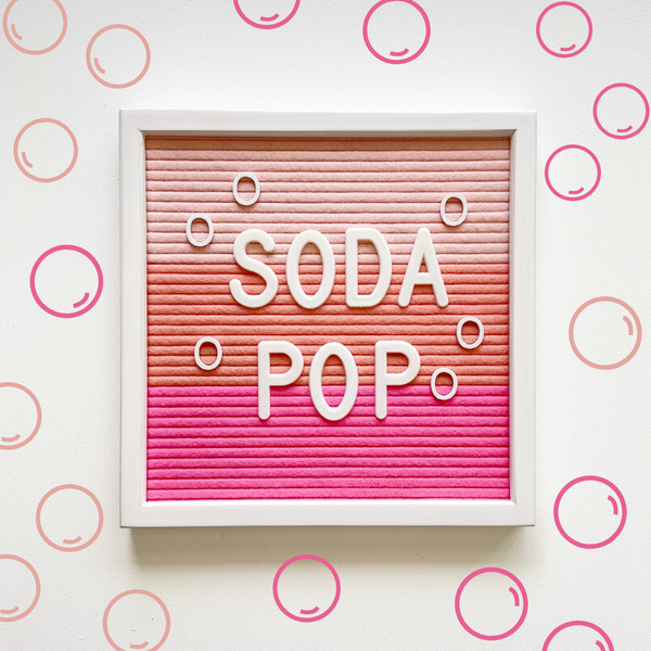 Standard - Soda Pop w/ White Frame