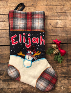Heirloom Christmas Stocking Kit & Online Workshop