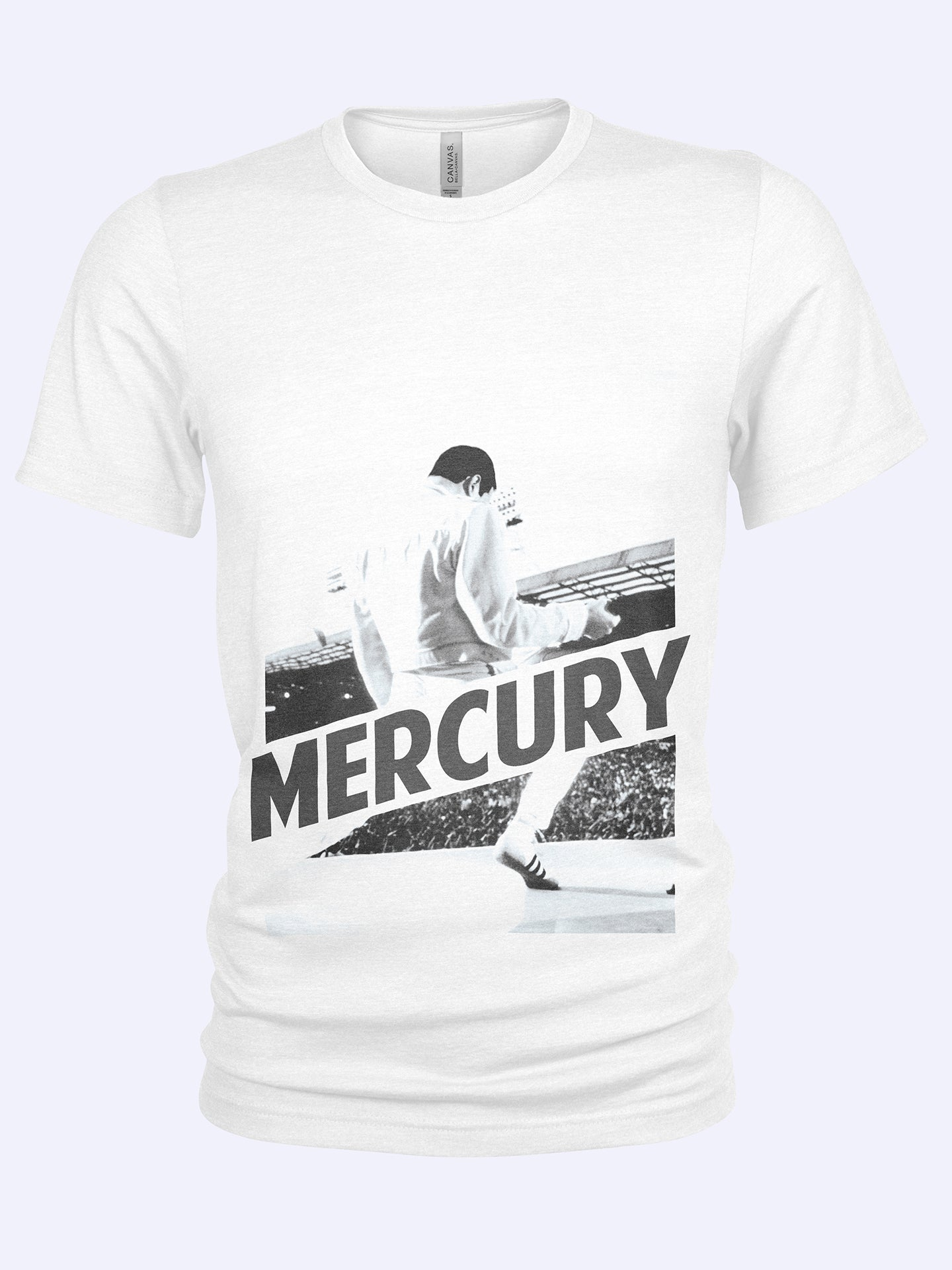 Rock Is Religion Mercury T-shirt - Tony Mottram July 1986 Wembley Stadium London