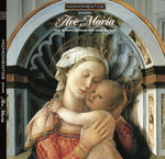 AVE MARIA with Barbra Streisand singing in both English & Latin from inside this Hardcover Gift Book