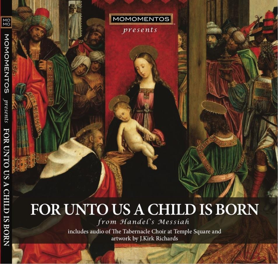 UNTO US A CHILD IS BORN from Handel's Messiah, performed by Tab Choir at Temple Square