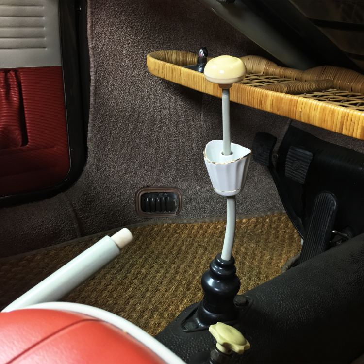 Gear Shifter Arm Ceramic Ashtray