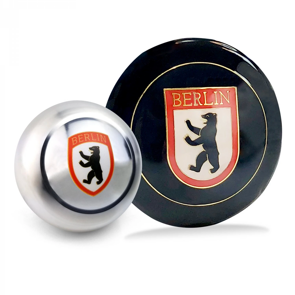 Berlin 2Pc Dress Up Kit ~ Horn Button & Shift Knob