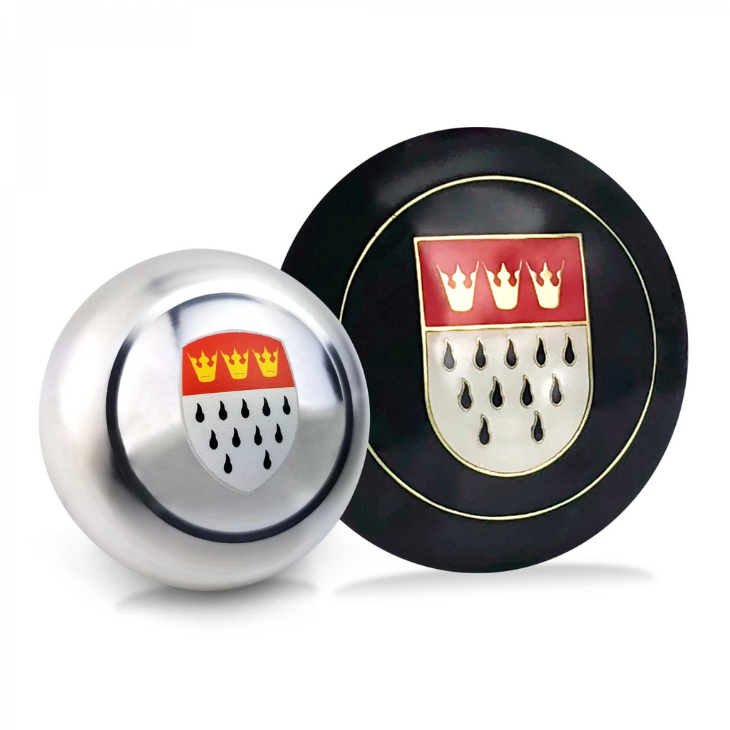 Cologne 2Pc Dress Up Kit ~ Horn Button & Shift Knob
