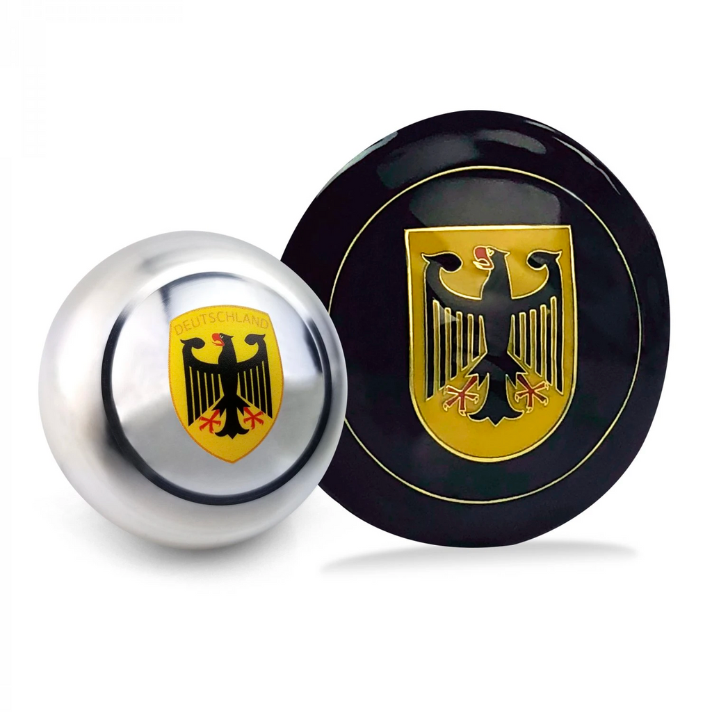 Deutschland 2Pc Dress Up Kit ~ Horn Button & Shift Knob