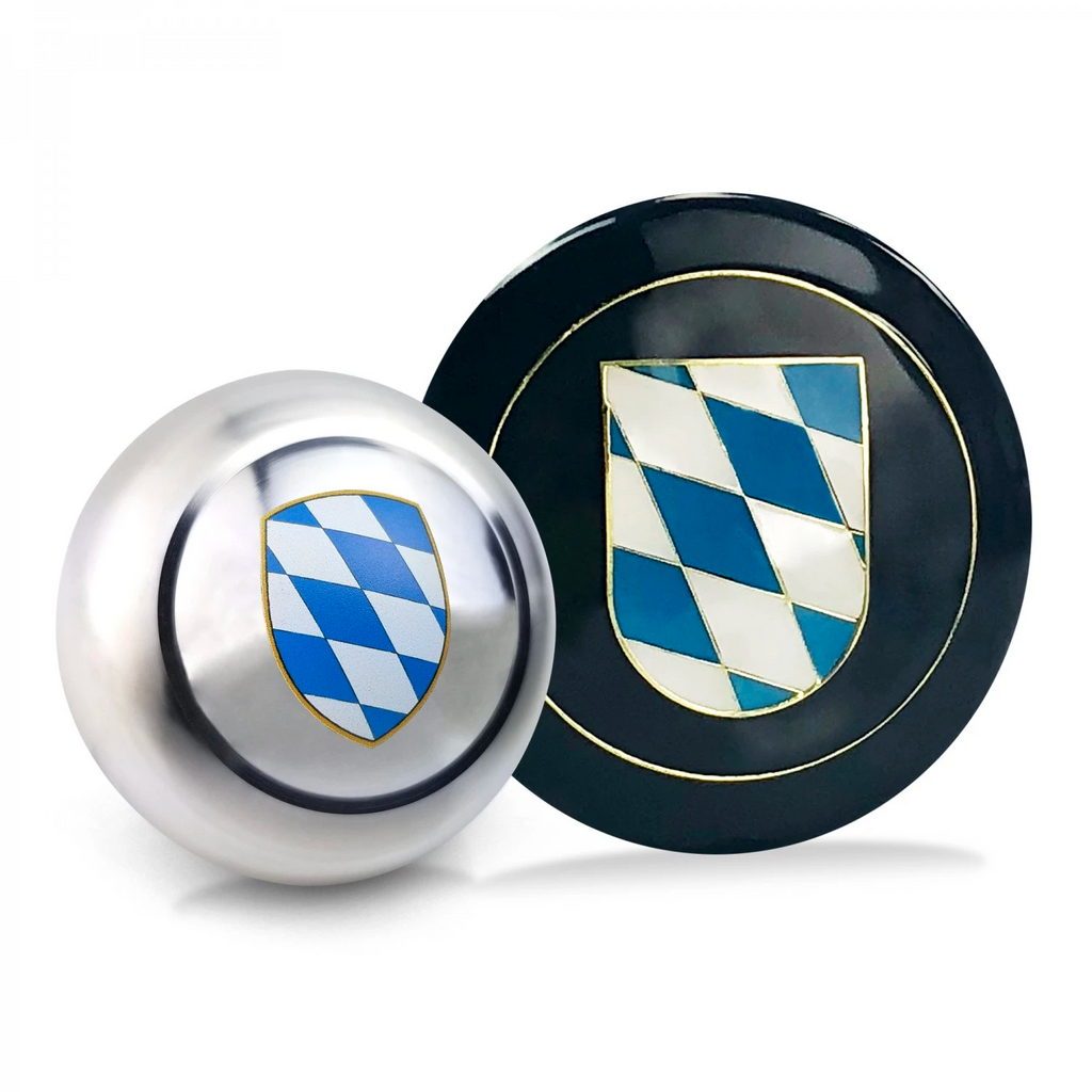 Bavaria 2Pc Dress Up Kit ~ Horn Button & Shift Knob