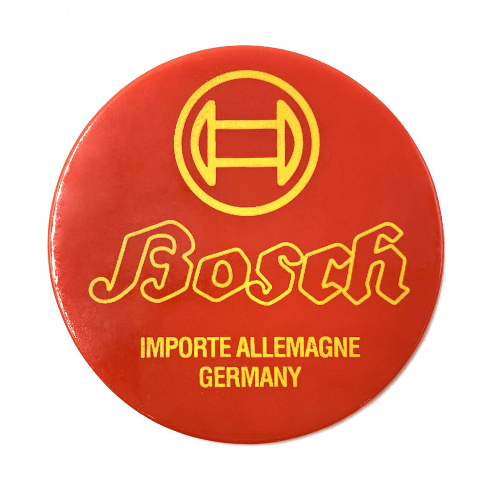 Bosch Battery Badge for VW Beetle Bus Ghia Okrasa Split Zwitter Porsche 356 911