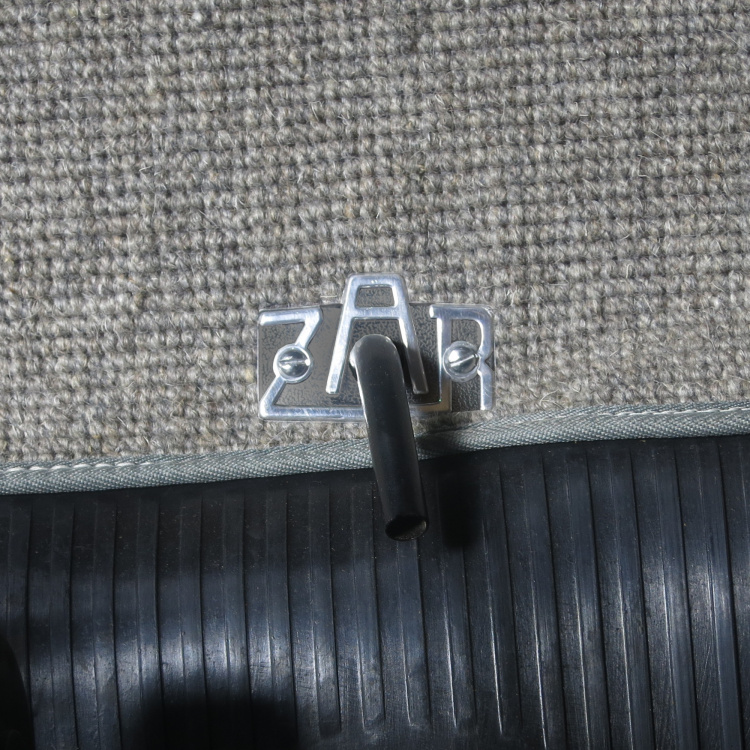 Volkswagen ZAR Fuel Lever Badge for Early VW's