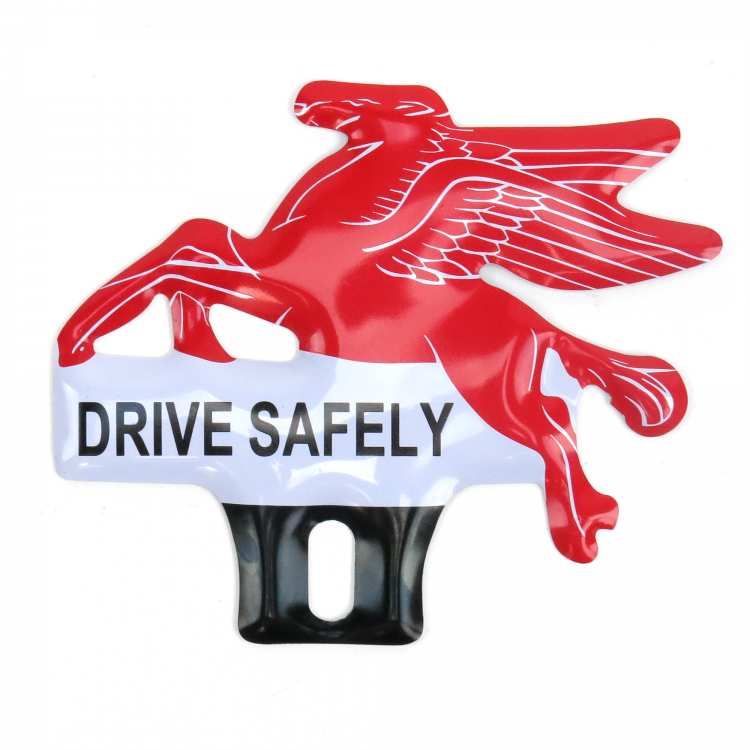 Pegasus License Plate Topper - Mobil Flying Horse