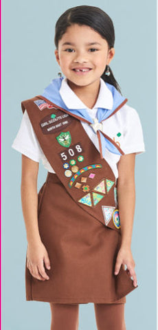 Design For You - Brownie uniform