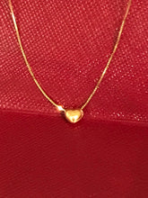 The Millennial Minimalist solid 14k gold heart shaped jewelry