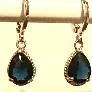 Water drop CZ Zircon Earrings