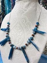 Free Spirits - Kyanite with natural stone beads necklace