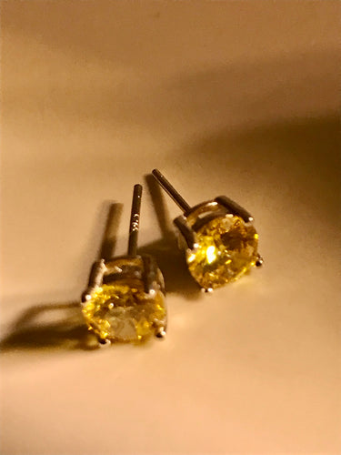 Citron Stud SS925 Earrings