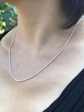 Silver S925 Sterling Silver Necklace - 20""