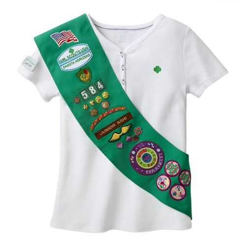 Girl Scouts Junior Sash