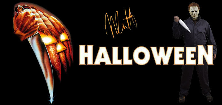 Halloween - Michael Myers - Nick Castle Signed Collection