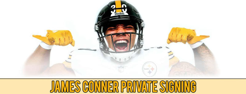James Conner Private Signing