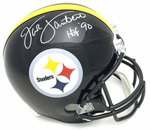 Signed Full Size Helmets by Pittsburgh Steelers