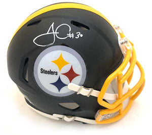 Signed Mini Helmets by Pittsburgh Steelers