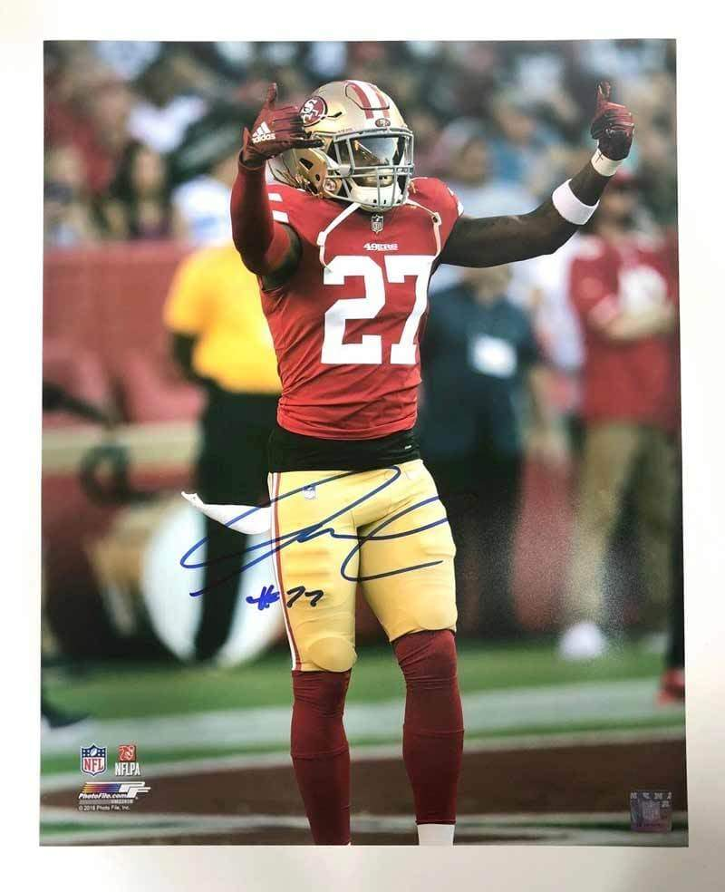 new product 135dd 9b27c Adrian Colbert Signed Arms Up 8x10 Photo