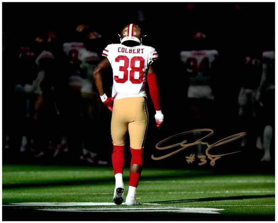 Adrian Colbert Signed Hand on Hip 16x20 Photo (#38)