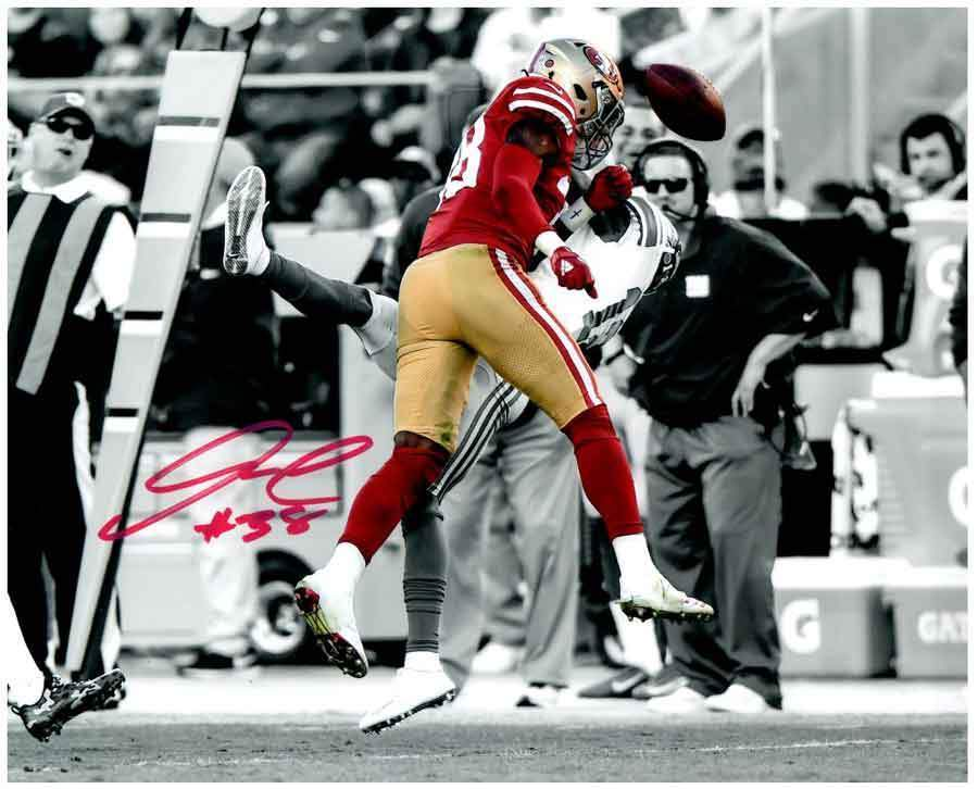 "Adrian Colbert Signed Spotlight ""Big Hit"" 16x20 Photo (#38)"