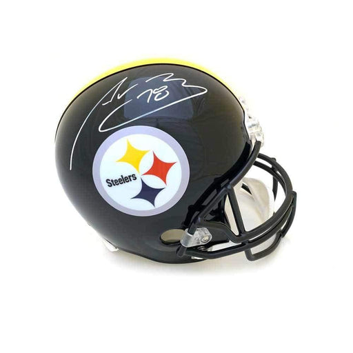 Alejandro Villanueva Signed Pittsburgh Steelers Full Size Helmet