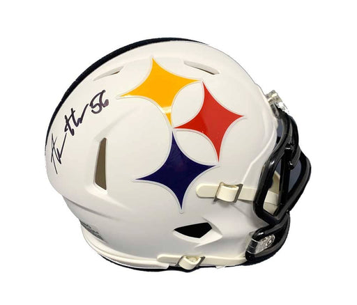 Alex Highsmith Signed Pittsburgh Steelers AMP Mini Helmet