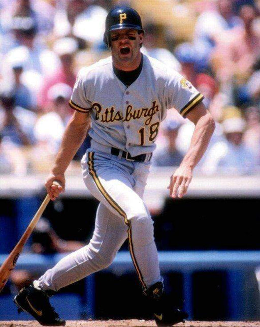 Andy Van Slyke Bat Down Unsigned  8x10 Photo