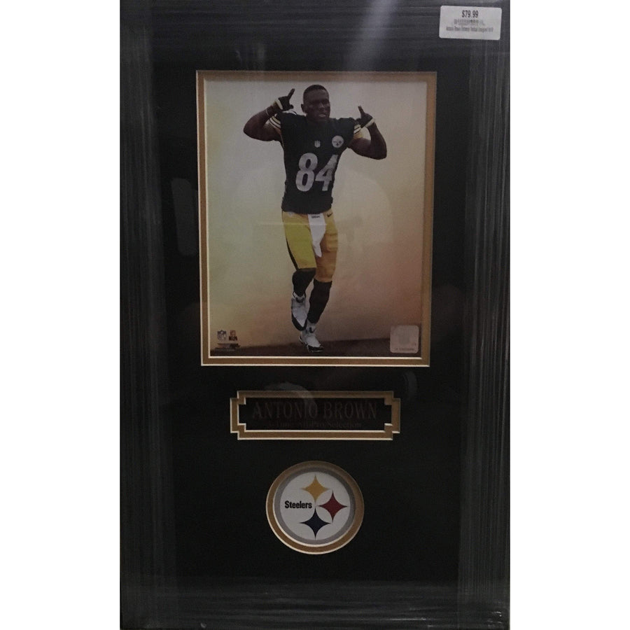 Antonio Brown Entrance Vertical Unsigned 8x10 - Professionally Framed