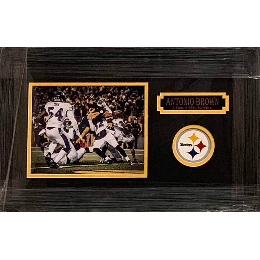 Antonio Brown Immaculate Extension Horizontal Unsigned 8x10 - Professionally Framed Default Title