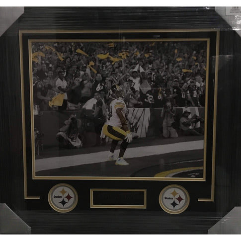 Antonio Brown Spotlight Twerking Photo Horizontal Unsigned 16x20 - Professionally Framed