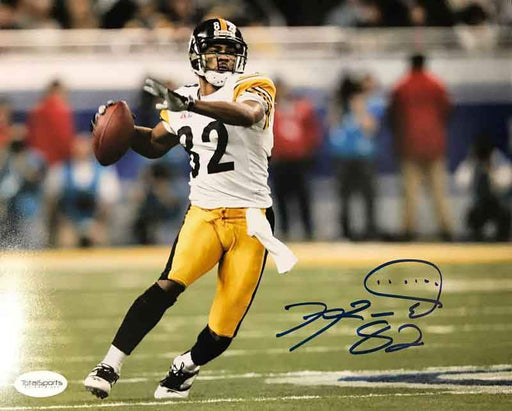 Antwaan Randle-El Autographed Ready to Throw 8x10 Photo